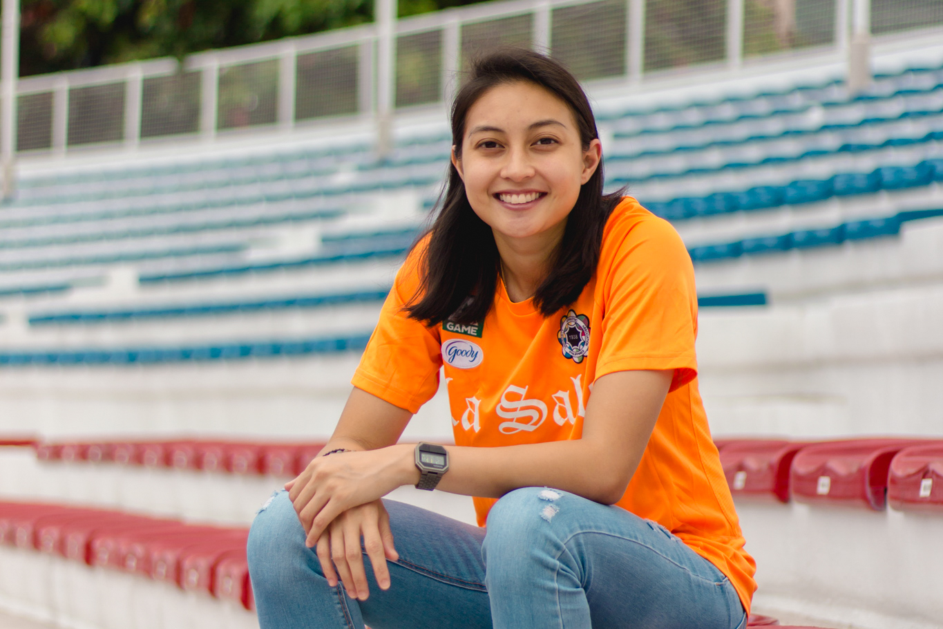 Athlete revisited: Inna Palacios guards women's football legacy at the net