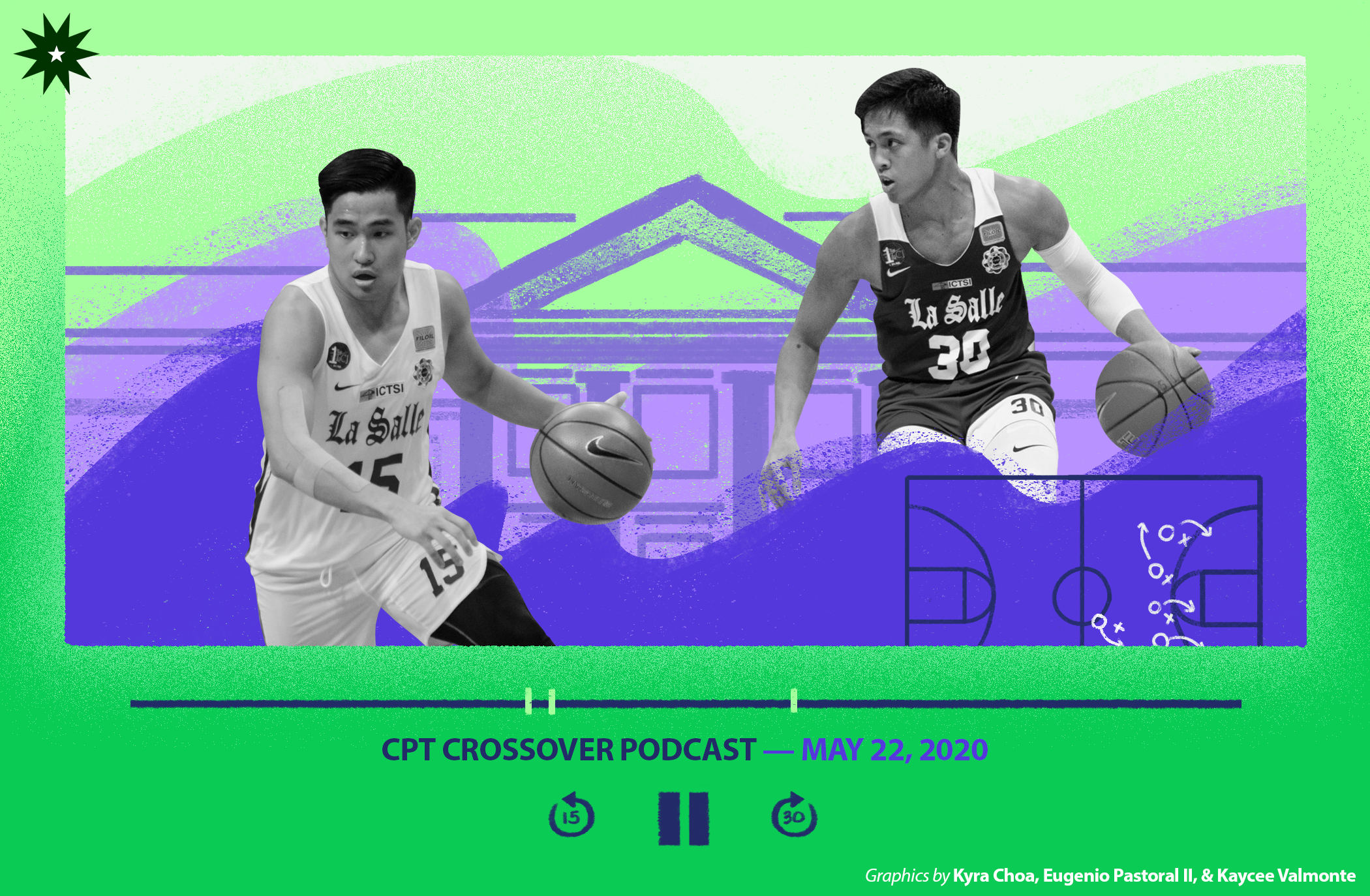 Former DLSU backcourt duo discuss their journey to basketball supremacy