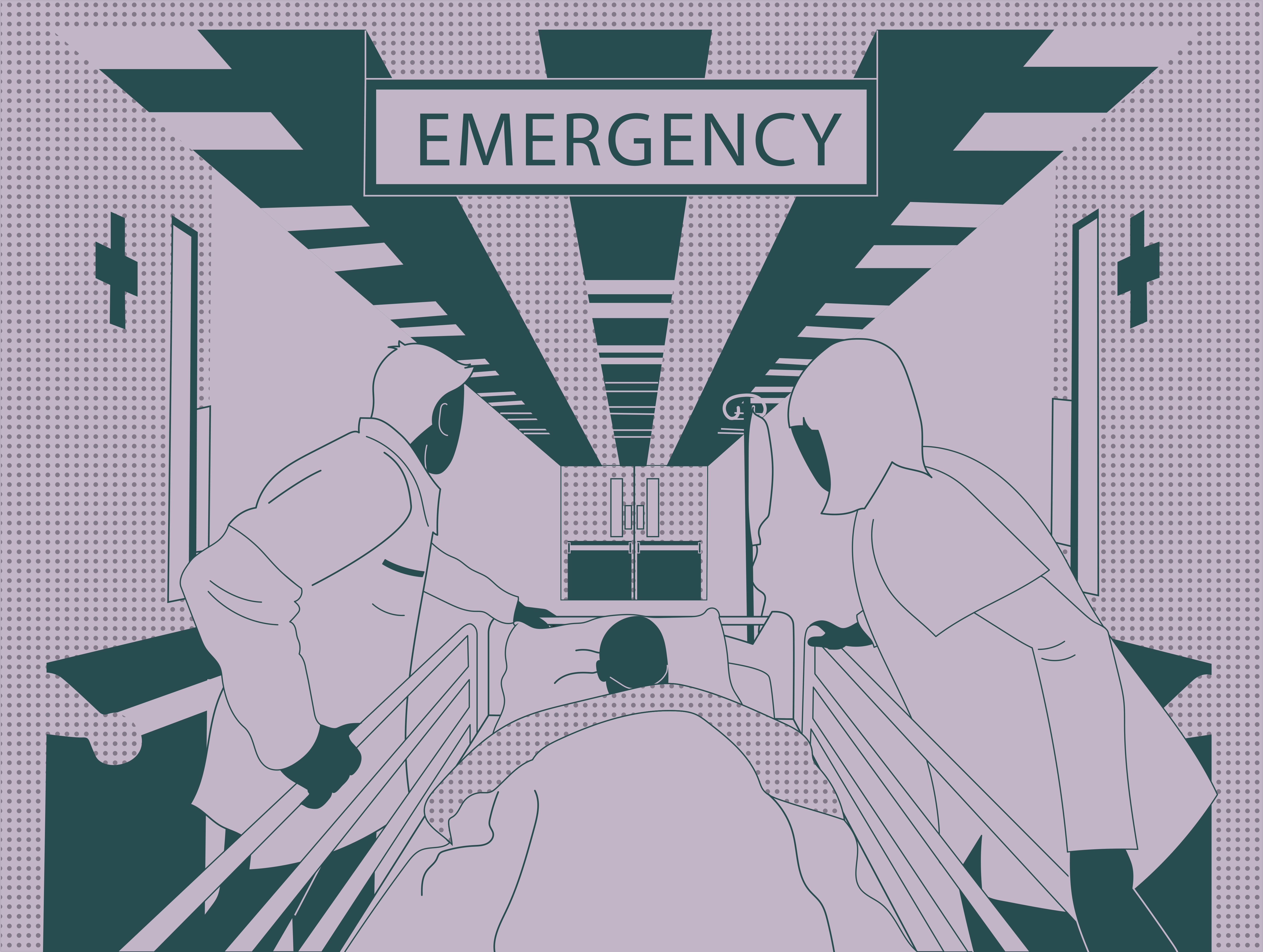 Emergency physicians hold the line at the forefront of medical response