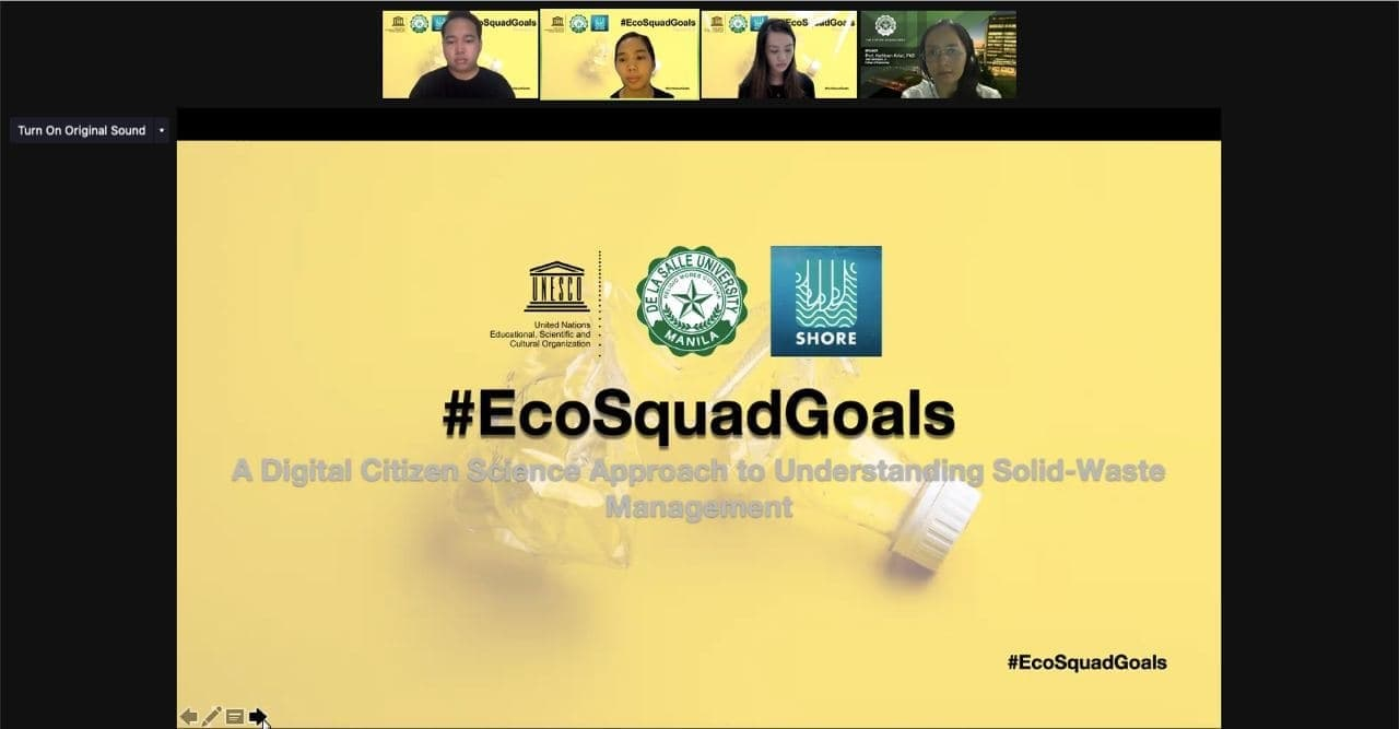 #EcoSquadGoals awards grants to PH youth projects addressing plastic pollution