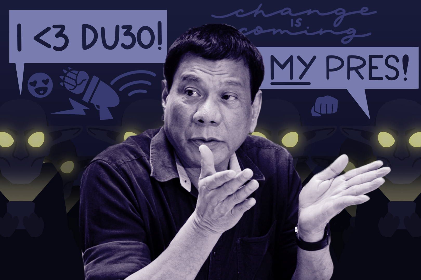 DU30's 2016 prexy bid and the art of hard selling